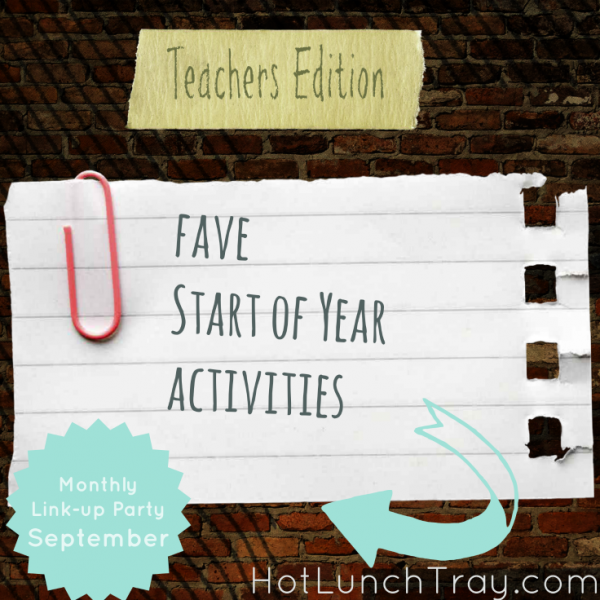 September fave start of year activities