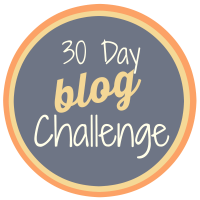 30 day blog challenge small