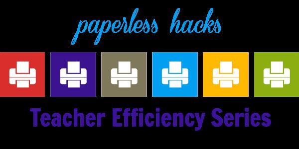 Teacher Efficiency Series PAPERLESS