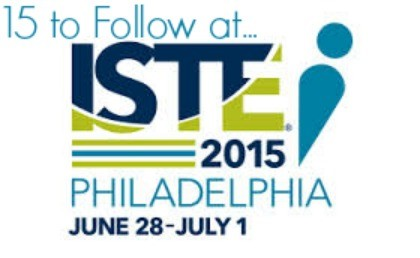 15 to follow at #ISTE2015